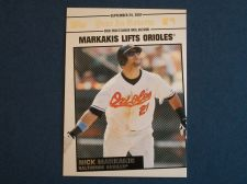 Buy 2008 Topps Update Year In Review #YR174 Nick Markakis ORIOLES