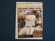 Buy 2008 Topps Update Year In Review #YR175 Prince Fielder BREWERS