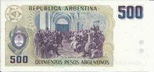 Buy Argentina 500 Peso Bill