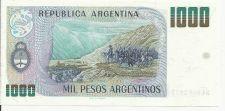 Buy Argentina 1000 Peso Bill