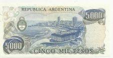 Buy Argentina 5000 Peso Bill