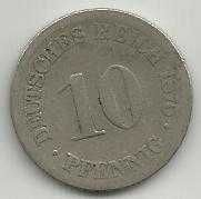 Buy Germany 10 Pfennig 1875