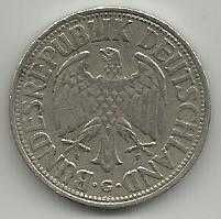 Buy German 1 Mark 1950G