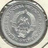 Buy Yugoslavia 1 Dinar 1963