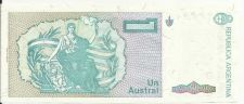 Buy Argentina 1 Australes 1985 Bill P-323