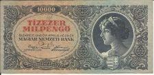 Buy Hungary Tizezer 10,000 MilPengo 1946 CRISP Banknote 048150 RARE!