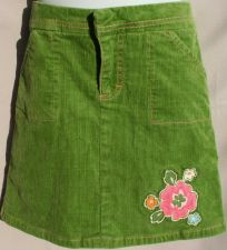 Buy Hartstrings Boutique Green Corduroy Skirt ~ Skort 6X Girls