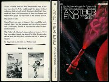 Buy Vincent King ANOTHER END 1st Ballantine 345021096 FINE 1981 science fiction