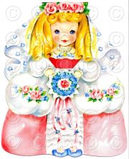 Buy Cinderella Fairy Tale Pretty Girl Doll Card Vintage Digital Image