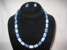Buy Blue Aventurine and Sterling Silver Necklace and Earrings