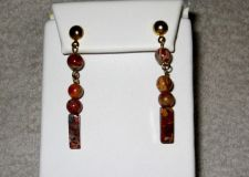 Buy Beautiful Jasper Dangle Earrings