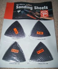Buy FEIN MULTIMASTER SANDING SHEETS ASSORTED 60 80 120 180 GRIT 63717082070 NEW !!!
