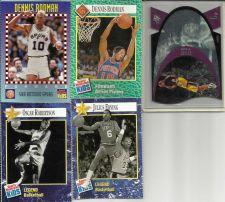 Buy Collector Basketball Cards Rodman Erving Robertson + Eddie Jones Hologram