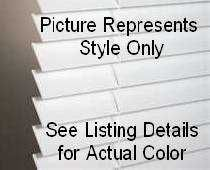 "Buy NEW 2"" Faux Wood Window Blinds 68"" Wide x Custom Length (Up to 59""), Off-White"