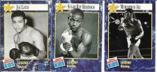 Buy Collector Boxing Card Joe Louis, Sugar Ray, Muhammid Al