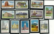 Buy Set of 12 Mint Uncirdulated US Statehood Postage Stamps