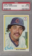 Buy 1978 Topps #99 Willie Hernandez Chicago Cubs PSA NM-MT 8
