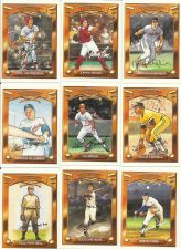 Buy Cooperstown Collectable Baseball Cards Featuring some of the Greatest