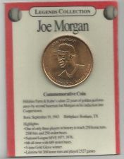 Buy Legend Collection Collectable Baseball Coin Joe Morgan