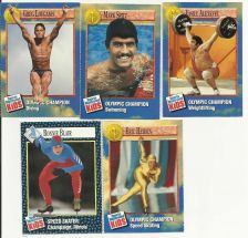 Buy Sports Illustrated Olympics Cards Set of 5
