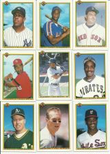 Buy Bowman Baseball Cards Set of 9 All Time Greats!
