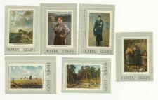Buy Russia 3896-3901,MNH. History of Russian painting,1971