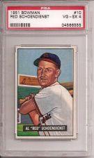 Buy 1951 Bowman # 10 Red Schoendienst HOF PSA 4