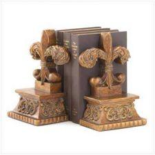 Buy NEW! STILL IN BOX! FLEUR-DE-LIS BOOKENDS