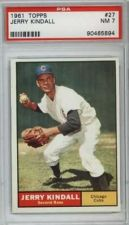 Buy 1961 Topps #27 Jerry Kindall Chicago Cubs PSA NM 7
