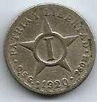 Buy Cuba 1 Centavo 1920 coin
