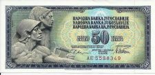 Buy Yugoslavia 50 Dinara - 1981