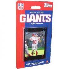 Buy 2007 Topps New York Giants Team Set (Factory Sealed)