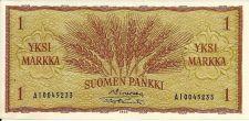 Buy Finland 1963 1 Markka P-98