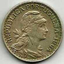 Buy Moeda Portugal 1 Escudo Coin 1964