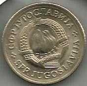 Buy YUGOSLAVIA - 1 DINAR 1980