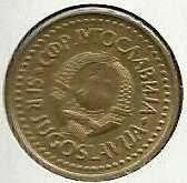 Buy Yugoslavia 1 Dinar 1984 Coin
