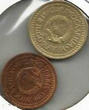 Buy Yugoslavia 1 Dinar 1985 50 Para 1982