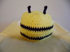 Buy Crochet Baby Bee Hat