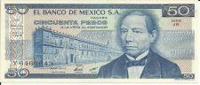 Buy Mexico 50 Pesos 1981 Banknote Y6466643