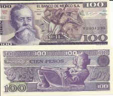 Buy 1981-82 Mexican 100 Peso Note