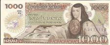 Buy 1985 Mexican 1000 Peso Note UNC