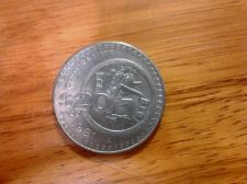 Buy Mexico 1981 $20 Peso Maya Culture Mexican Coin - engraved on rim - nice piece!