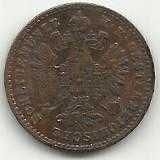 Buy 1881 Austria 1 Heller Coin