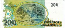 Buy BRAZIL 200 Cruzeiros UNC