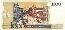 Buy BRAZIL 1 Cruzado Novo on 1000 Cruzados 1989 UNCIRCULATED Note A 9199045003A