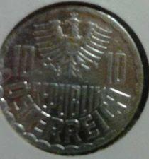 Buy Austria Lot of Three 10 Groshen Coins: 1989, 1991, & 1996