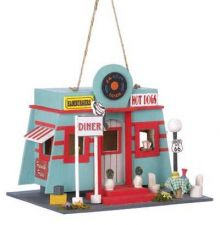 Buy FIFTIES DINER BIRDHOUSE