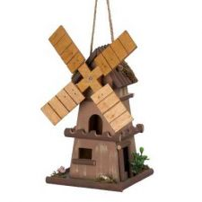 Buy WHIMSICAL WINDMILL BIRDHOUSE