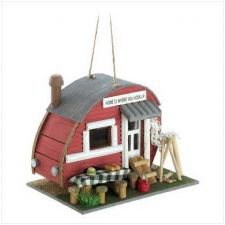 Buy Vintage Trailer Birdhouse