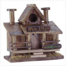 Buy Moose Lodge Birdhouse